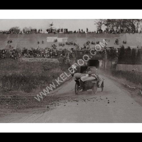 Photo d'époque Automobile n°08 - circuit de Brooksland (Angleterre)- photographe Victor Forbin