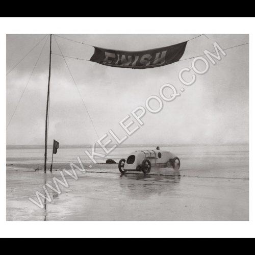 Photo d'époque Automobile n°10 - BABS voiture de record - photographe Victor Forbin