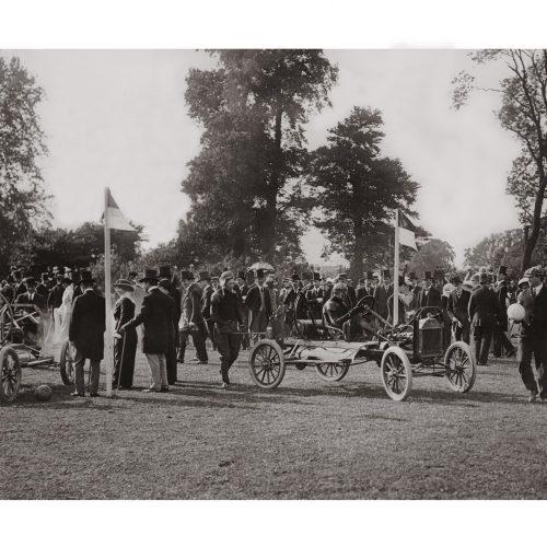 Photo d'époque Automobile n°13 - châssis Ford