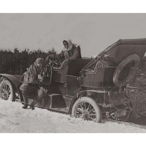 Photo d'époque automobile n°14 - Auvergne Mai 1908