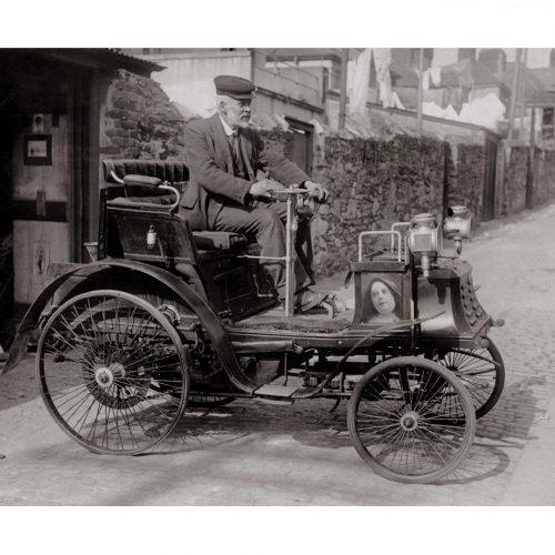 Photo d'époque automobile n°15 - photographe Victor Forbin