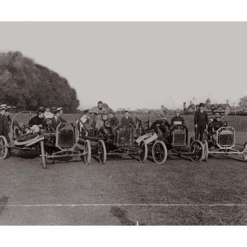 Photo d'époque automobile n°16 - châssis Ford - photographe Victor Forbin