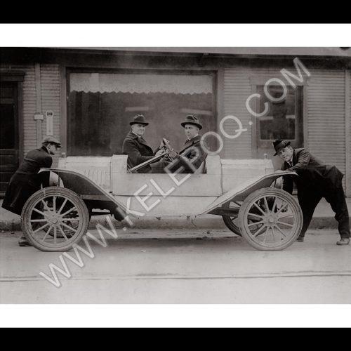 Photo d'époque automobile n°18 - photographe Victor Forbin