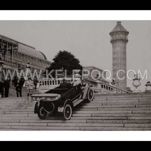 Photo d'époque Automobile n°26 - voiture Willys Overland - photographe Victor Forbin