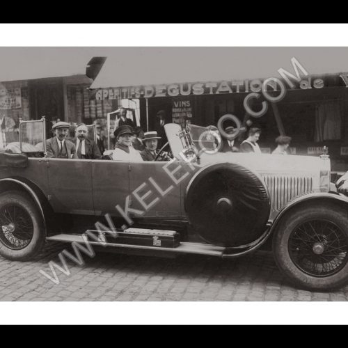 Photo d'époque Automobile n°42 - voiture Hotchkiss