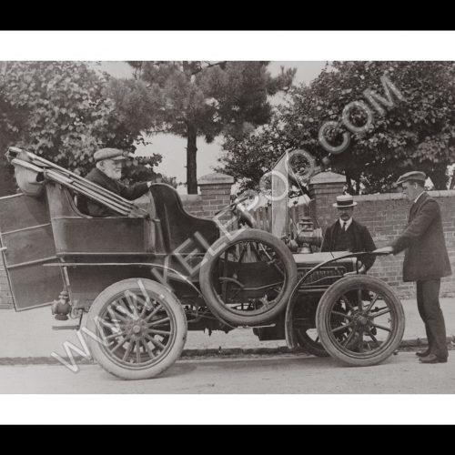Photo d'époque automobile n°48 - photographe Victor Forbin