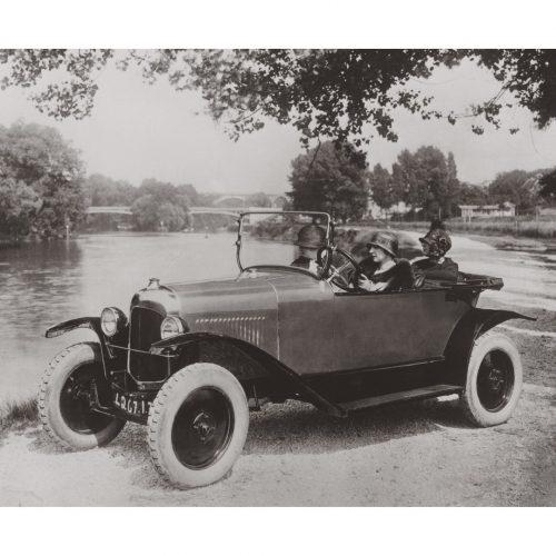 Photo d'époque Automobile n°52 - Citroën Trèfle -photographe Victor Forbin