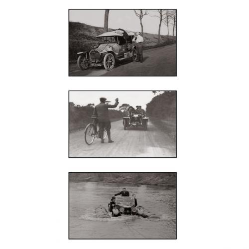 Photo d'éqoque automobile n°55 - triptyque
