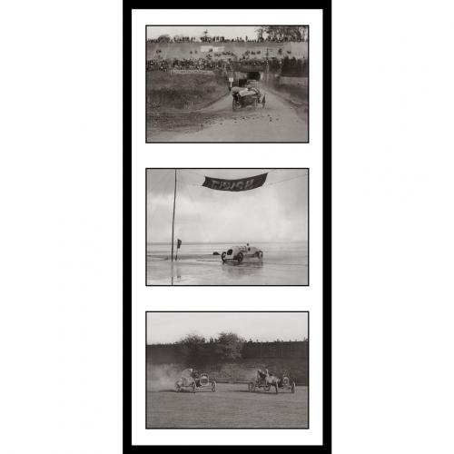 Photo d'époque automobile n°56 - triptyque Victor Forbin
