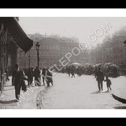 Photo d'époque Bruxelles n°01 - 1913