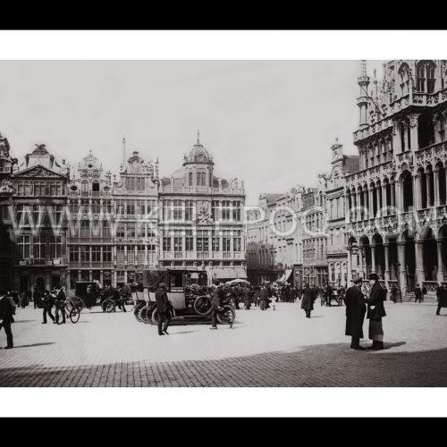 Photo d'époque Bruxelles n°02 - 1913