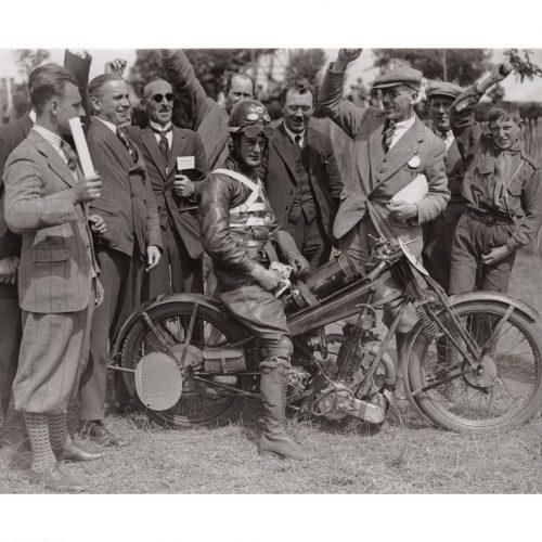 Photo d'époque cycles n°06 - photographe Victor Forbin