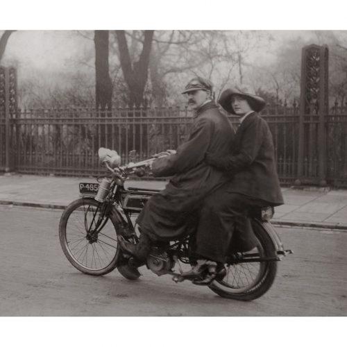 Photo d'époque Cycles n°23 - photographe Victor Forbin