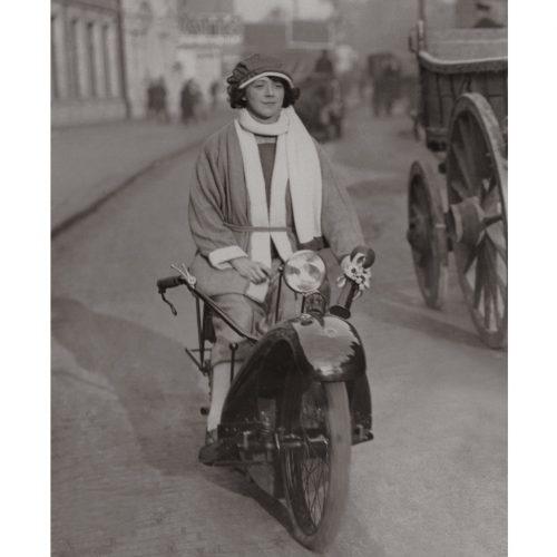 Photo d'époque Cycles n°25 - photographe Victor Forbin