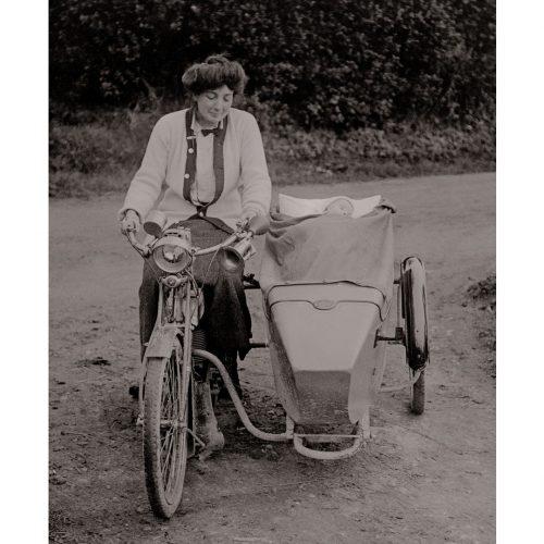 Photo d'époque Cycles n°26 - photographe Victor Forbin