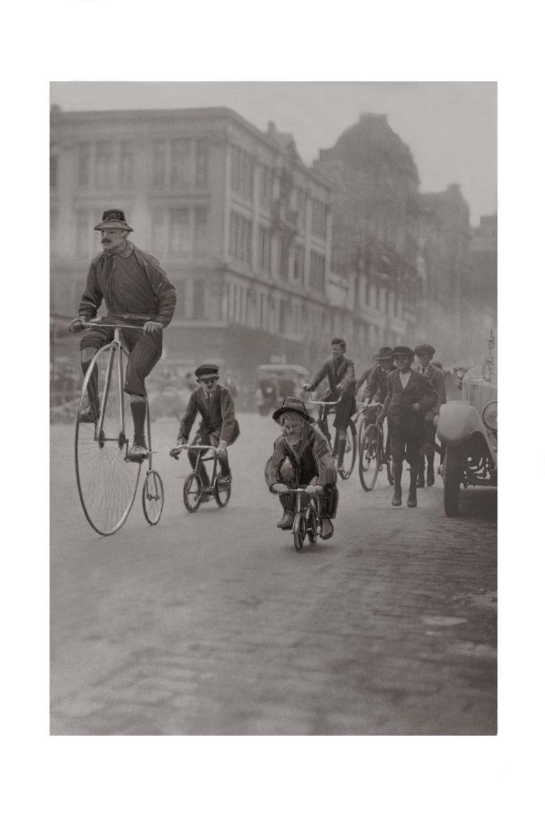 Photo d'époque Cycles n°32 - photographe Victor Forbin