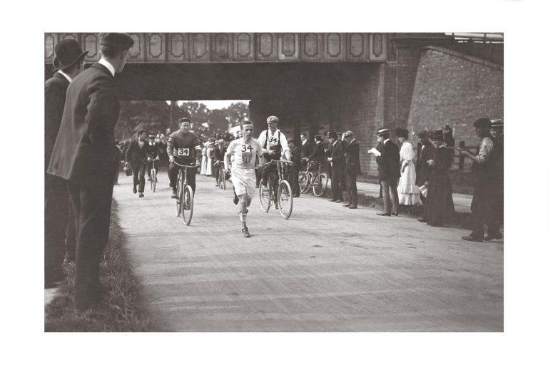 Photo d'époque Cycles n°33- photographe Victor Forbin