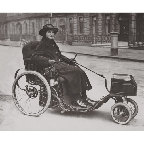Photo d'époque Cycles n°35 - photographe Victor Forbin