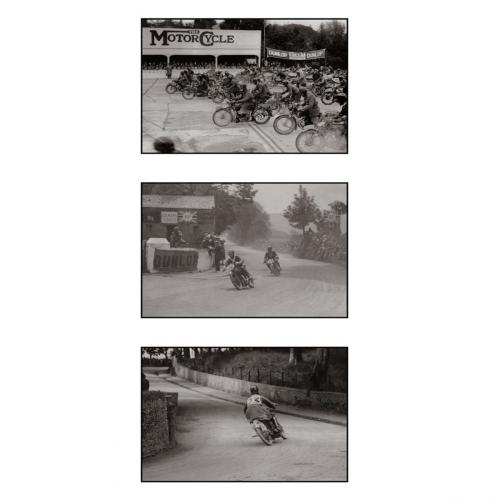 Photo d'époque cycles triptyque n°36 - Victor Forbin