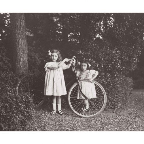 Photo d'époque Enfance n°05 - vélo - Août 1911