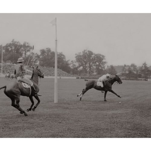 Photo d'époque Equitation n°01 - photographe Victor Forbin