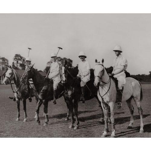 Photo d'époque équitation n°02 - photographe Victor Forbin