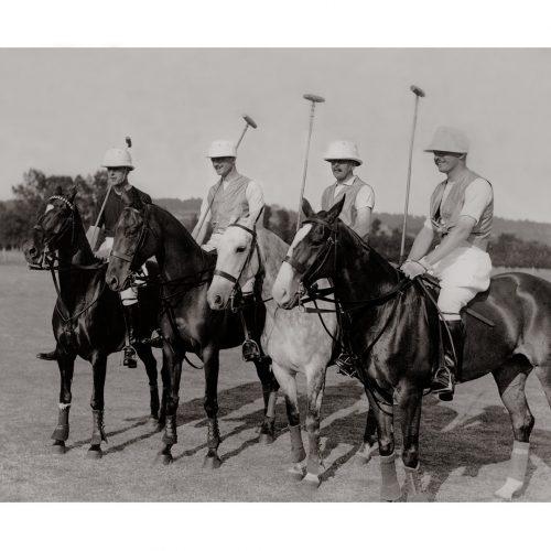 Photo d'époque Equitation n°06 - photographe Victor Forbin
