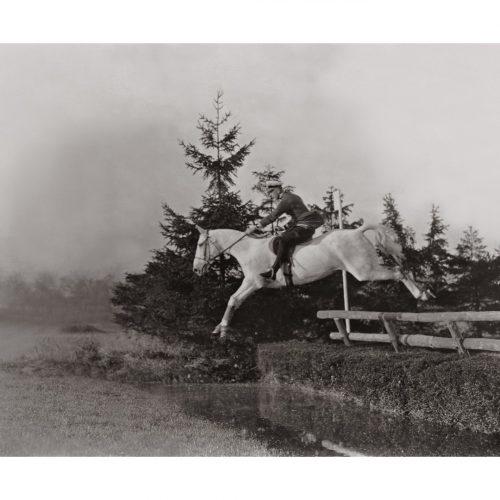 Photo d'époque Equitation n°07 - photographe Victor Forbin