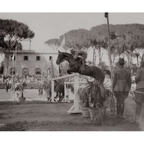 Photo d'époque Equitation n°08 - photographe Victor Forbin