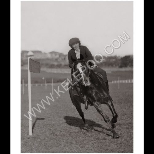 Photo d'époque Equitation n°10 - photographe Victor Forbin