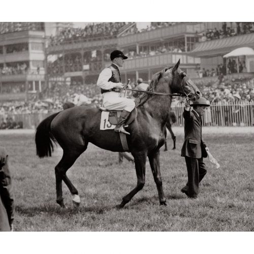 Photo d'époque Equitation n°12 - photographe Victor Forbin