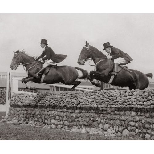 Photo d'époque Equitation n°14 - photographe Victor Forbin