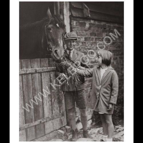 Photo d'époque Equitation n°20 - photographe Victor Forbin