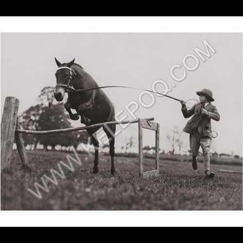 Photo d'époque Equitation n°22 - photographe Victor Forbin