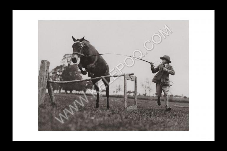 Photo d'époque Equitation n°22 - photographe Victor Forbin