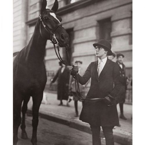 Photo d'époque Equitation n°23 - photographe Victor Forbin