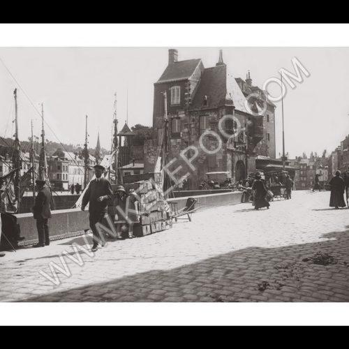 Photo d'époque Honfleur n°01 - 1913