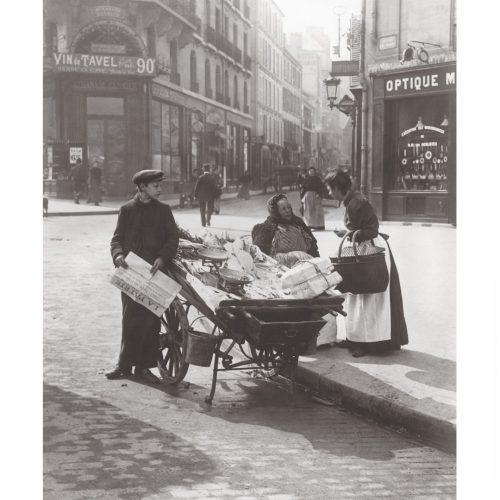 Photo d'époque commerce n°04 - marchands de journaux