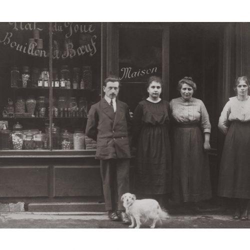 Photo d'époque commerce n°06 - restaurant - Décembre 1919