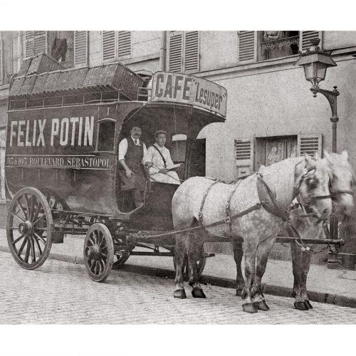 Photo d'époque commerce n°07 - épicerie Félix Potin