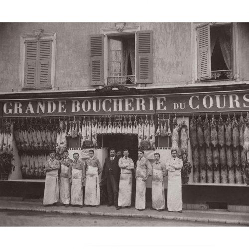 Photo d'époque commerce n°14 - Boucherie Thevenot - Nice