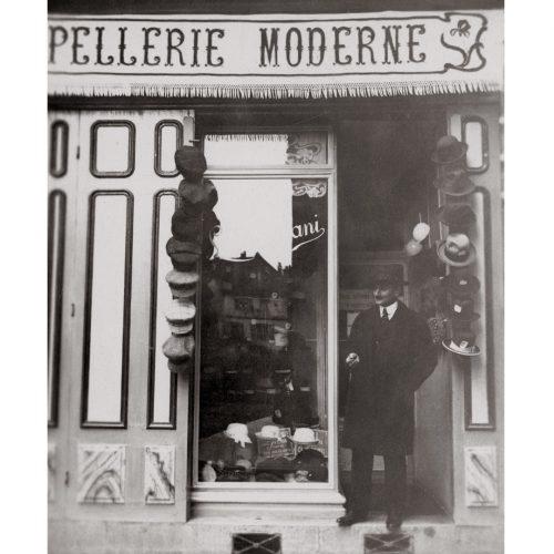 Photo d'époque commerce n°15 - Chapellerie - Draguignan