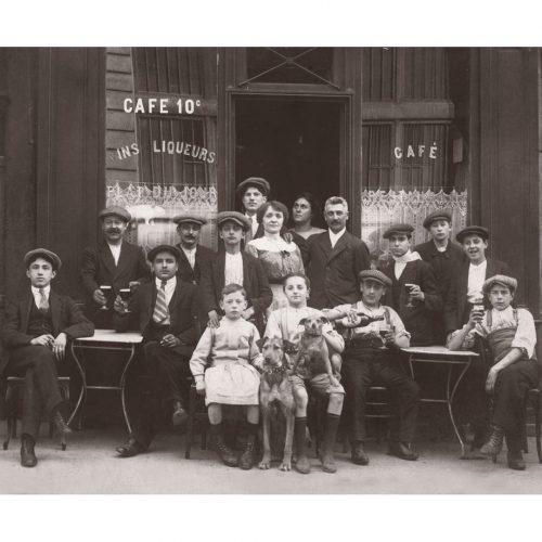 Photo d'époque commerce n°16 - café