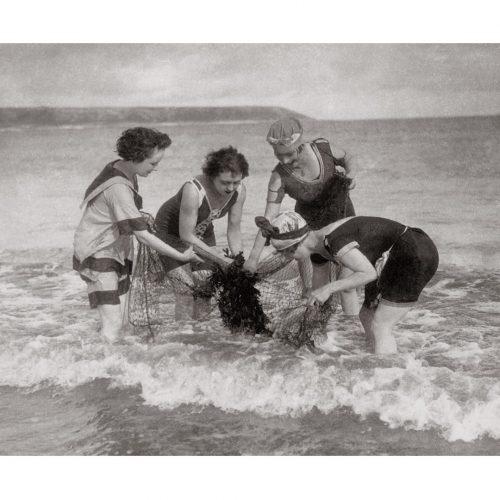 Photo d'époque mer n°03 - photographe Victor Forbin