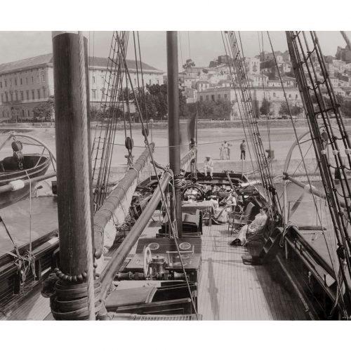 Photo d'époque mer n°08 - Croisière au Portugal