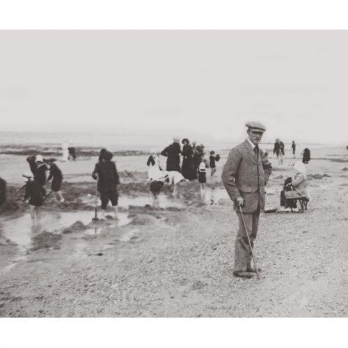 Photo d'époque mer n°26 - Saint Aubin sur Mer - Aout 1913