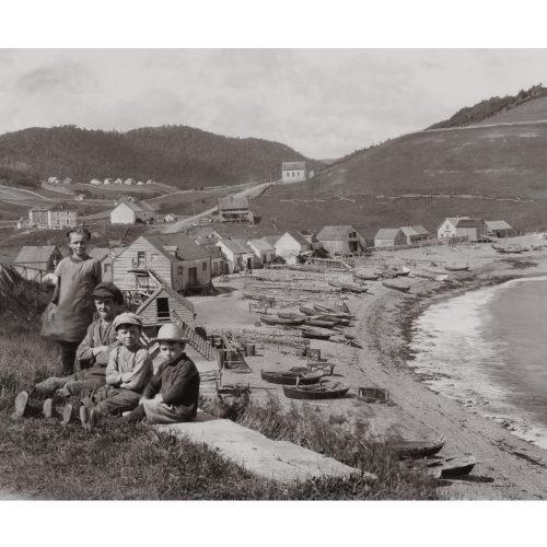 Photo d'époque mer n°33 - photographe Victor Forbin