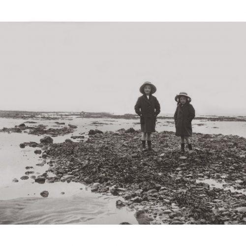Photo d'époque mer n°34 - Villerville 1913
