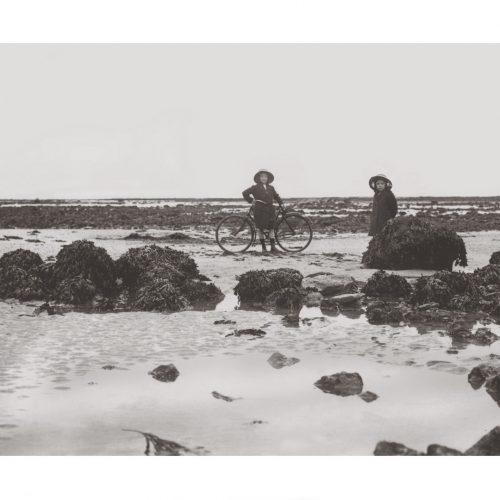 Photo d'époque mer n°36 - Villerville 1913