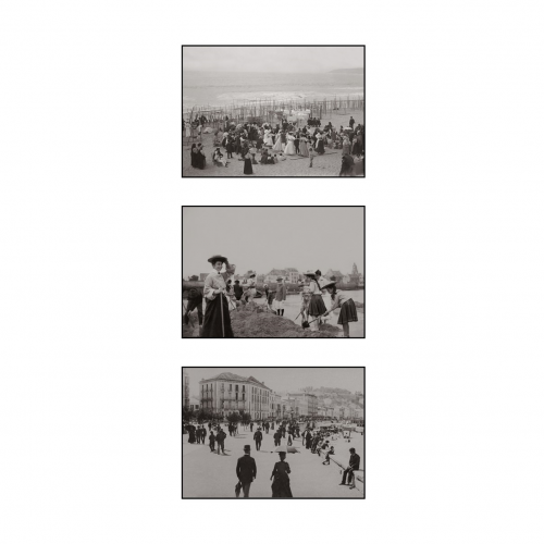 Photo d'époque Mer n°42 - triptyque